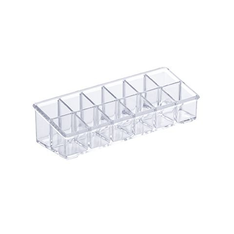 Organizador Cosmeticos Elegance 17x6,5x6,5cm Cristal