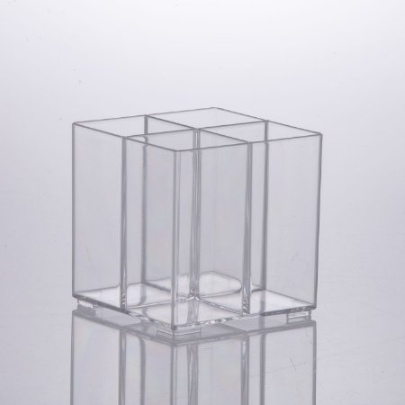 Organizador Cosmeticos Elegance 10x10x10cm Cristal