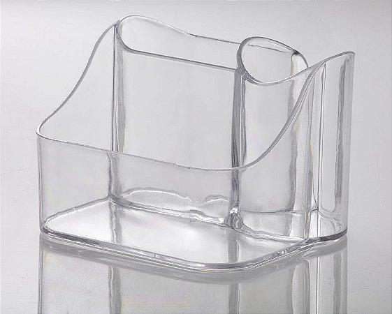 Organizador para Secador Elegance 18x15x13cm Cristal