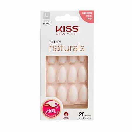 Salon Natural Kiss Ny Longo Stiletto Cod.KSN06BR