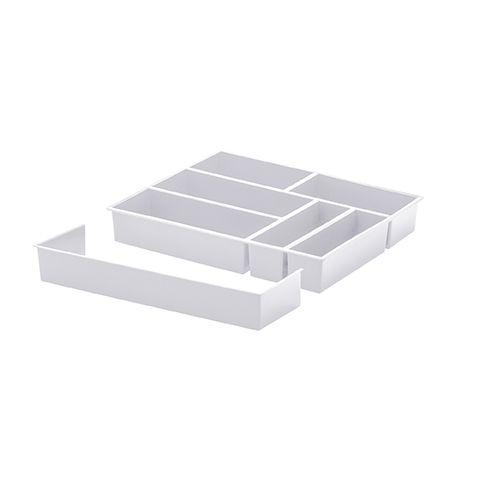 Organizador com Extensor 40x33x6,5cm Paramount Branco