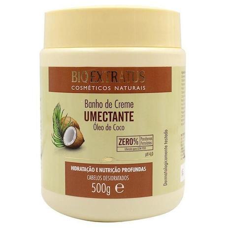 Banho de Creme Bio Extratus Umectante Óleo de Coco 500g
