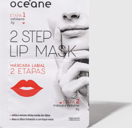 2 Step Lip Mask - Máscara Labial 2 Etapas Oceane