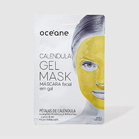 Máscara facial em gel - pétalas de calêndula Oceane