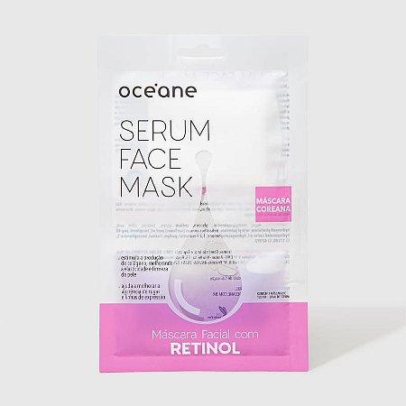 Serum Face Mask - Máscara Facial com Retinol Oceane