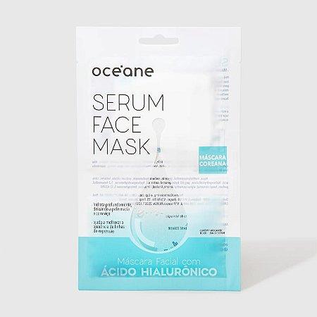 Serum Face Mask - Máscara Facial com Ácido Hialurônico Oceane