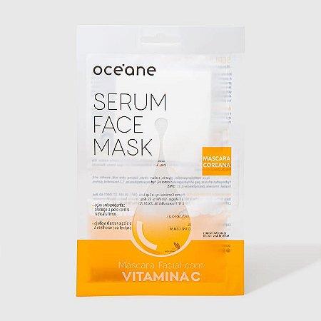 Serum Face Mask - Máscara Facial com Vitamina C Oceane