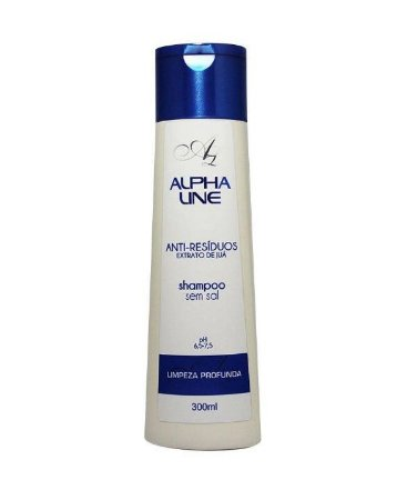 Shampoo Alpha Line 250ml Anti-Resíduos