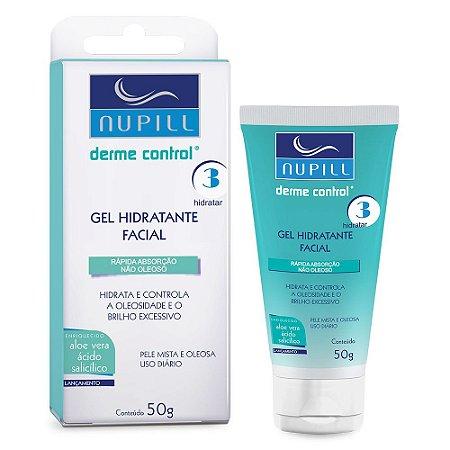 Gel Hidratante Facial Nupill Derme Control