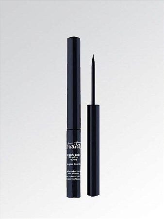 Delineador Líquido Tracta Para Olhos Super Black