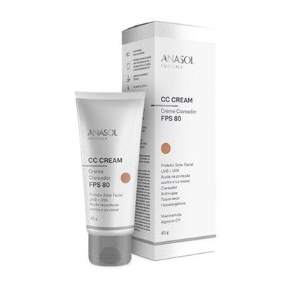 CC Cream Facial Anasol FPS 80 40g