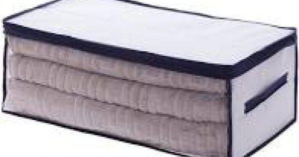 Organizador Clear Multiuso com Alça Concept 65x45x25cm