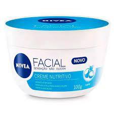 Creme Facial Nivea 100g Nutritivo