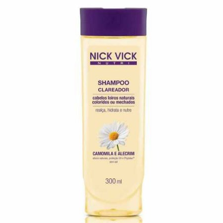 Shampoo Nick&Vick 300ml Clareador