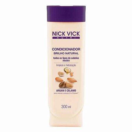Condicionador Nick Vick 300ml Brilho Natural