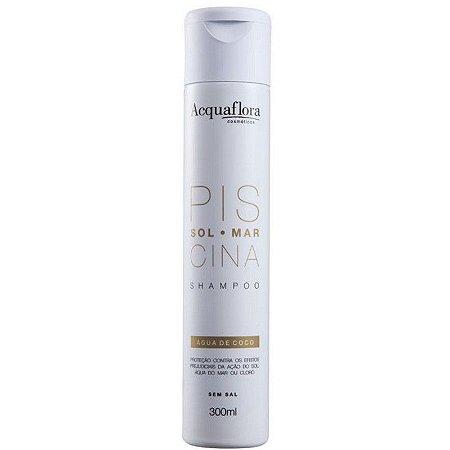 Shampoo Acquaflora Sol Mar Piscina 300ml