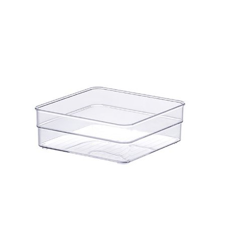 Organizador Modular Diamond 15x15x5,2cm Cristal