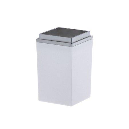 Porta Escovas Quadratta Branco Paramount