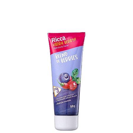 Hidratante Facial Ricca Blend de Berries