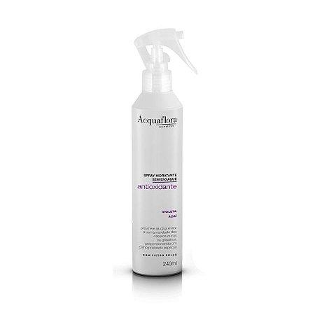 Spray Hidratante Sem Enxágüe Acquaflora Antioxidante