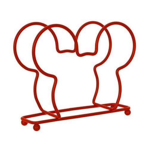 Porta Guardanapos Mickey Mouse Vermelho