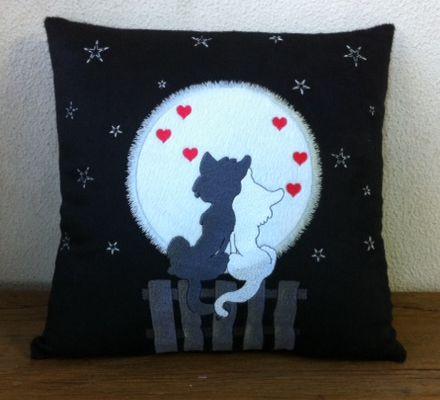 Almofada Namorados Gatos