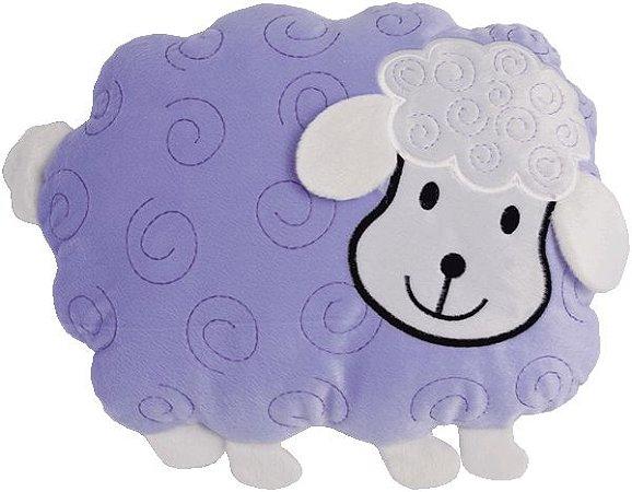 Almofada infantil bichinhos, Ovelha lilás
