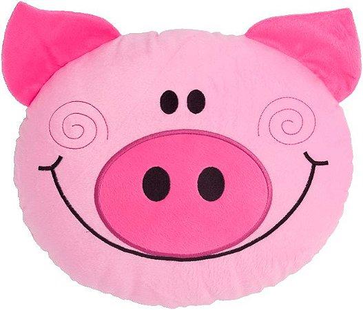 Almofada infantil bichinhos, Porquinho feliz