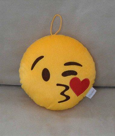Almofada emoji beijinho -  Pequena