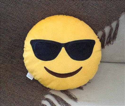 Almofada Emoji óculos de sol - Pequena