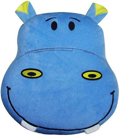 Almofada infantil hipopótamo