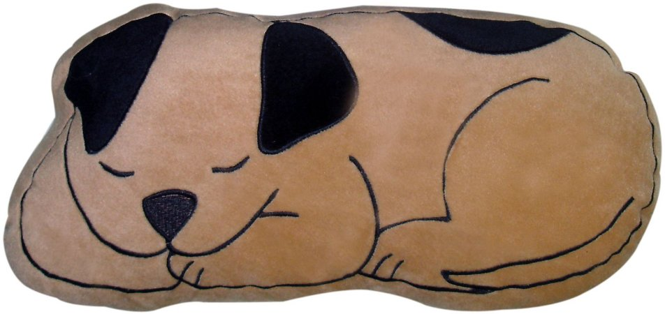 Almofada cachorro dorminhoco