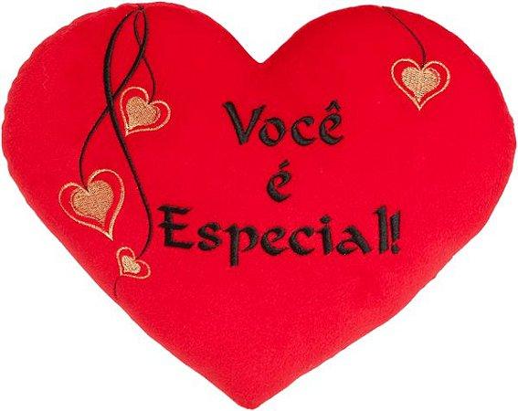 Almofada coração Você é especial P