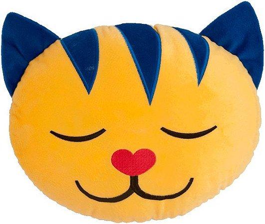 Almofada infantil Gato amarelo