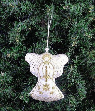 Enfeite de Natal anjo