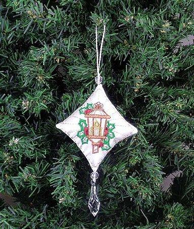 Enfeite de Natal pingente lâmpada