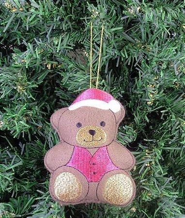 Enfeite de Natal urso