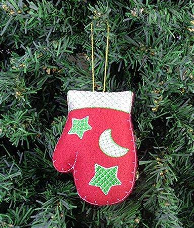 Enfeite de Natal luva
