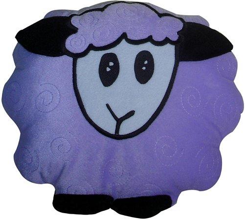 Almofada infantil ovelha lilás