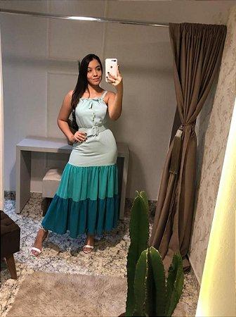 Vestido Kimika / tamanho: P / Cor: bicolor