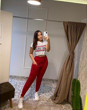 T-shirt Planet Girls / Tamanho: P / Cor: Branca com estampa