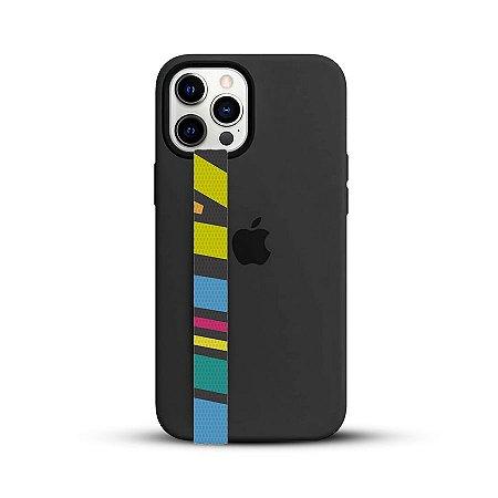 Poww - Geométrica Colorida - Sua fita segura salva celular