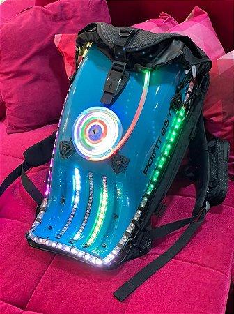 Mochila LED - SUPER LED - Única no Brasil