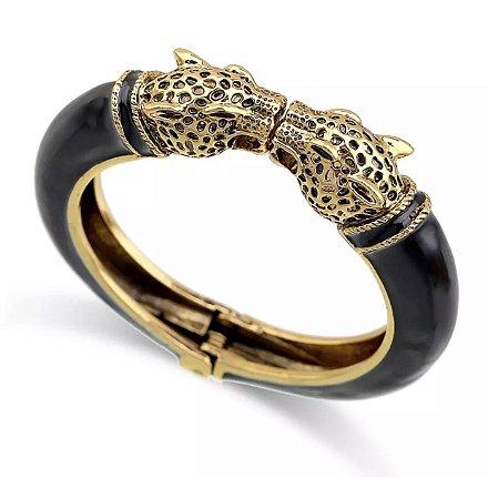 Bracelete Leopardo Preto