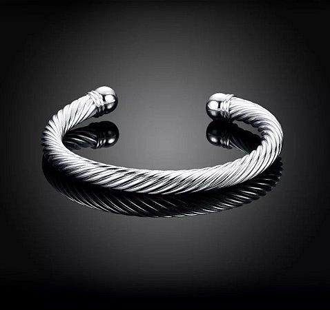 Bracelete Dubai Prata