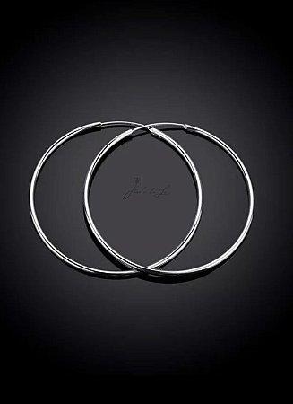 Argola Prata 5 cm
