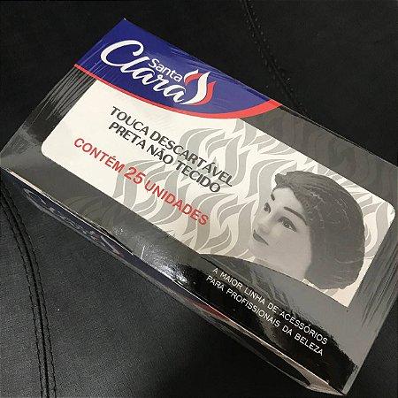 TOUCA PRETA DESC CX C/25 UND SANTA CLARA