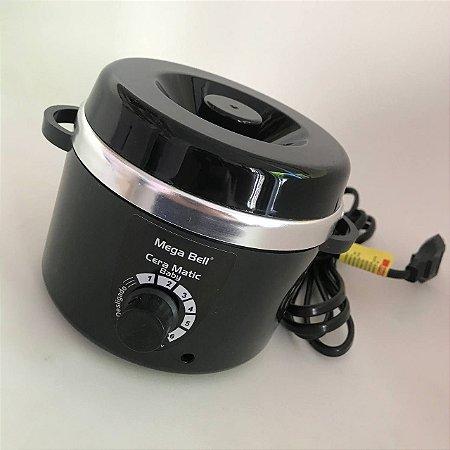 Termocera Mega Bell Baby 200g s/ Refil Preta