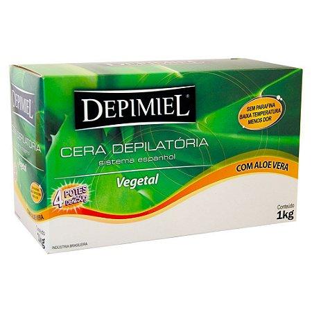 Cera Depilatoria Vegetal 1kg Depimiel