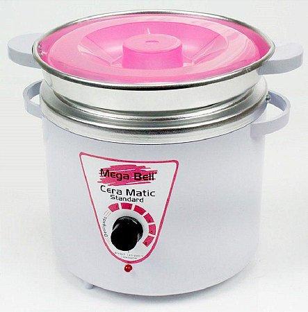 Termocera Mega Bell Standard 900g Branca/Rosa c/ Refil